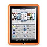 Premium Orange Soft Gel Silicone Skin for Apple iPad 16GB, 32GB, 64GB Wi-Fi, 3G