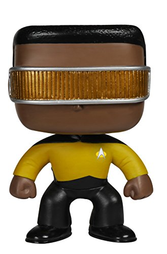 Funko POP TV: Star Trek The Next Generation - Geordi La Forge Action Figure
