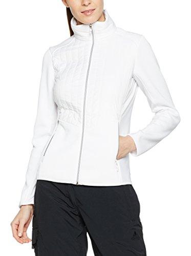 CMP - Veste de sport - Veste damassée - Femme blanc Weiß