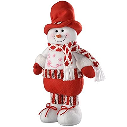 werchristmas free standing christmas snowman decoration 43 cm multi colour by werchristmas - Free Standing Christmas Decorations