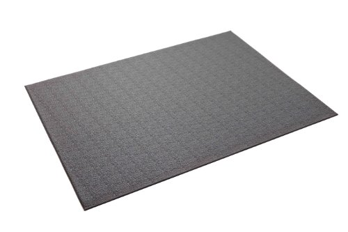 (SuperMats Heavy Duty Equipment Mat 11GS-GRAY Made in U.S.A. for Large Treadmills Ellipticals Rowers Rowing Machines Recumbent Bikes and Exercise Equipment  Color Gray  (3-Feet x 6.5-Feet) (36
