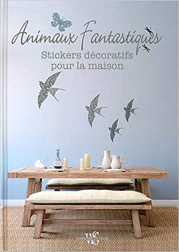 Animaux Fantastiques Stickers Decoratifs Pour La Maison
