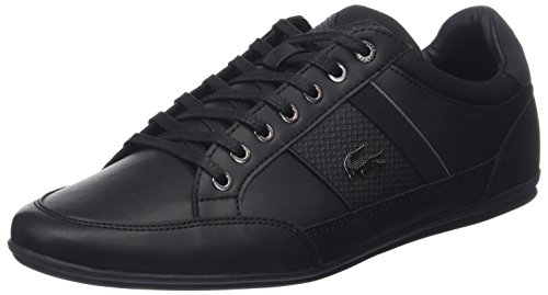 Lacoste Men's Chaymon 118 1 CAM Leather Trainers, Black, for sale  Delivered anywhere in Canada