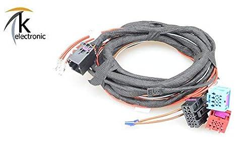 k-electronic Audi A6 4 G Schwenkbare Remolque AHK Juego de Cables con/sin AHK Antes de preparación de Facelift: Amazon.es: Coche y moto