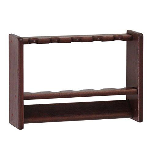 Wooden Mallet 5, Mahogany Pool Cue Rack