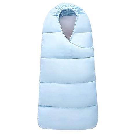 LLX Saco De Dormir De Bebé Puro con Cremallera Cochecito De Dormir Sleep Bag Anti-