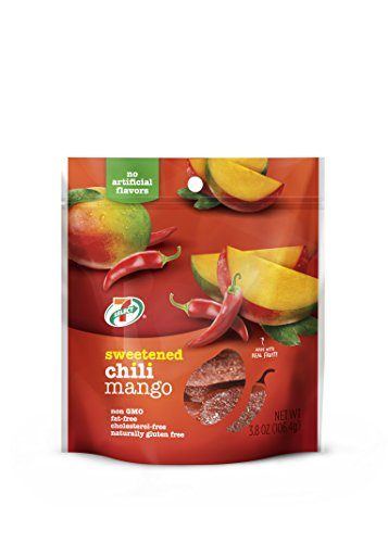 7 Select Sweetened Dried Chili Mango 3 8 Oz  Per Bag  6 Resealable Bags