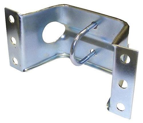 PRESSED CARAVAN BRACKET INC CLAMP For Use With Aerials