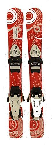 New Lil Flake Kids Jr. Shape Snow Ski with Tyrolia 4.5 Binding