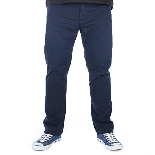 LOIS Mens Arturo Bedford Navy Slim Fit Corduroy Trousers W34 L30 Bedford Corduroy Pants