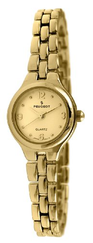 Peugeot Women's 1015G Gold-Tone Bracelet Watch