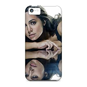 Defender Case For Iphone 5c, Eliza Dushku 50 Pattern by icecream design