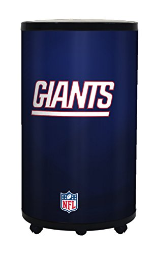 NFL New York Giants Ice Barrel Cooler, Black, 19'' by Glaros