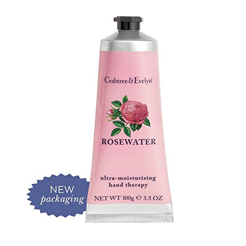 Crabtree & Evelyn Ultra-Moisturising Hand Therapy, Rosewater, 3.5 oz.
