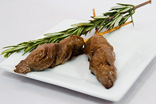 Order Wholesale Beef Satay Plain - Gourmet Frozen Beef Appetizers (25 Piece Tray)