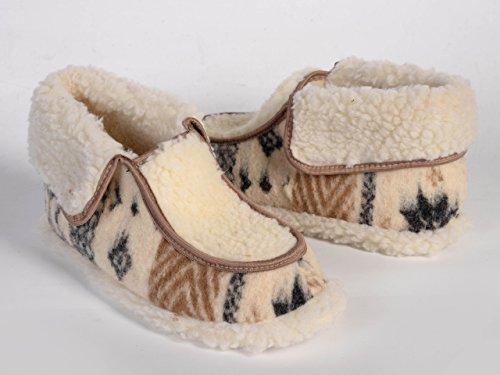 Genuine, Donna, Lana di Pecora Pantofole, caldo e confortevole