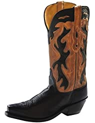 Old West Womens Inlay Cowgirl Boot - Lf1531