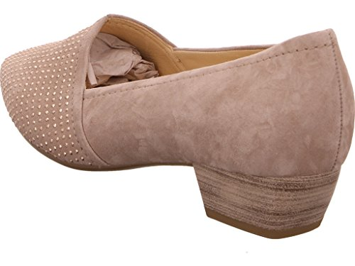 Azalea Gabor Grey Low Heel Court wTqZa0