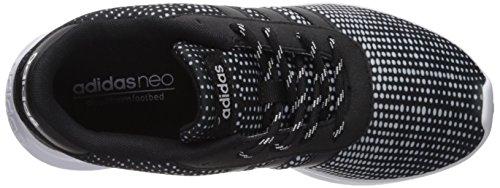Scarpa Da Tennis Adidas Da Donna Per Corse Lite, Nera / Nera / Bianca, 5.5 Media Noi