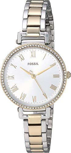 Fossil Kinsey Three-Hand Two-Tone Stainless Steel Watch (Two Tone(Two Tone)) ()