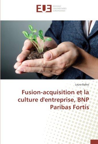 fusion-acquisition-et-la-culture-dentreprise-bnp-paribas-fortis-french-edition