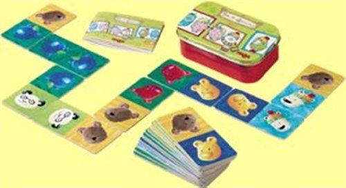 Bear Dominos Tin Game to Go