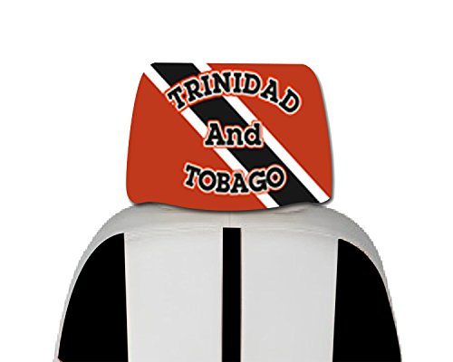 UPC 712962452765, Trinidad-Tobago Car Cover Seat Flag 2 pcs -With, free iphone 6s case or Head band design in your flag color logo.