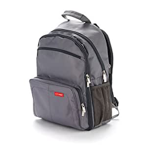 skip hop via backpack diaper bag charcoal discontinued by manufacturer diaper. Black Bedroom Furniture Sets. Home Design Ideas