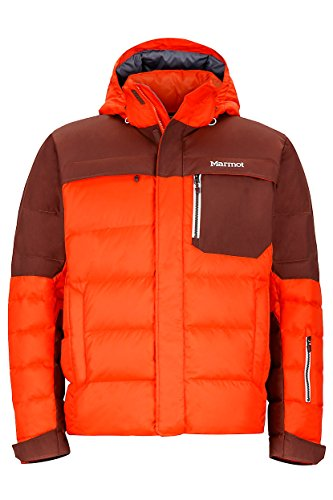 Marmot Shadow Jacket Mens, 71800 (Medium, Mars Orange/Marsala Brown)