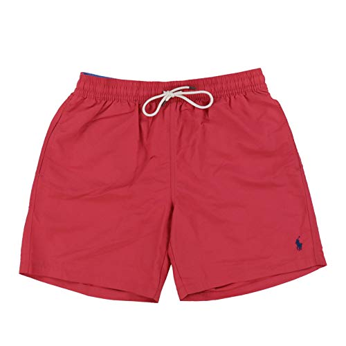 Polo Ralph Lauren Mens Bathing Suit Bottoms (X-Large, Nantucket Red)