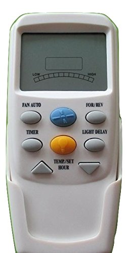 Hampton Bay CHQ7096T Remote Control with YELLOW light button