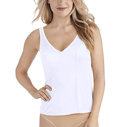 Vanity Fair Women's Daywear Solutions Built Up Camisole 17760, Star White, 36 (String Camisole)