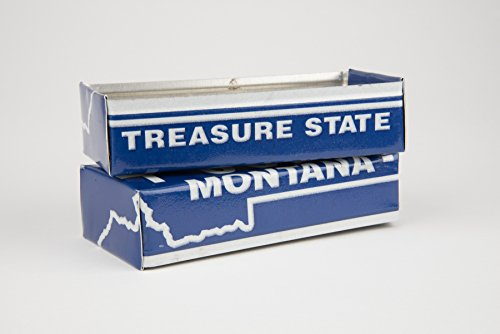 Montana box made from a Montana License Plate
