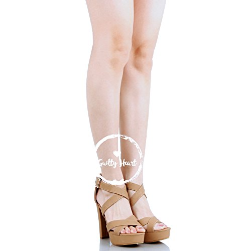 Ritaglio Cinghia Modo Pattini Pu Della Di Tallone Caviglia Sandali Gladiatore Della Piattaforma Colpevole Della Tanv5 qfCC4F