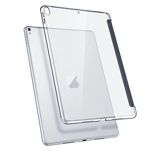 ESR iPad Pro 10.5 Case, Clear Hard Case [Perfect Match with Smart Keyboard] Slim Fit Back Shell Cover for iPad Pro 10.5 Inch(Clear) (Back Plastic Shell Cover)