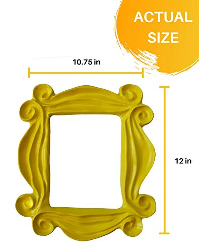 Handmade Yellow Peephole Frame as seen on Monica's Door on Friends TV Show