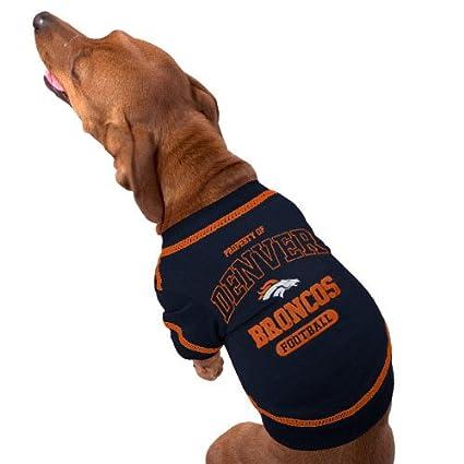 2a9b51bb9 Amazon.com   DENVER BRONCOS Dog T-Shirt