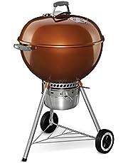 Weber 14401001 Original Kettle Premium Charcoal Grill, 22-Inch, Black