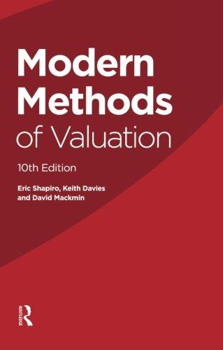 Modern Methods of Valuation