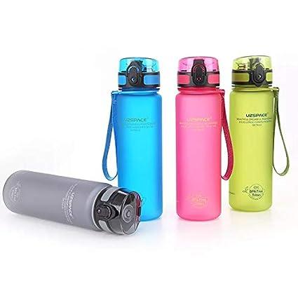 Botella de agua Tritan – Botella deportiva (500 ml, novedoso Botella Deportiva | Water