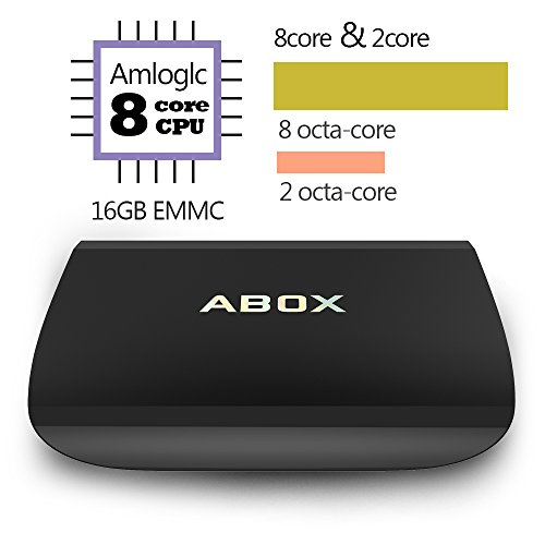 ABOX 2017 Model Abox A3 Android 6.0 TV Box with Amlogic S912 Octa-Core 64-bit Cortex A53 CPU