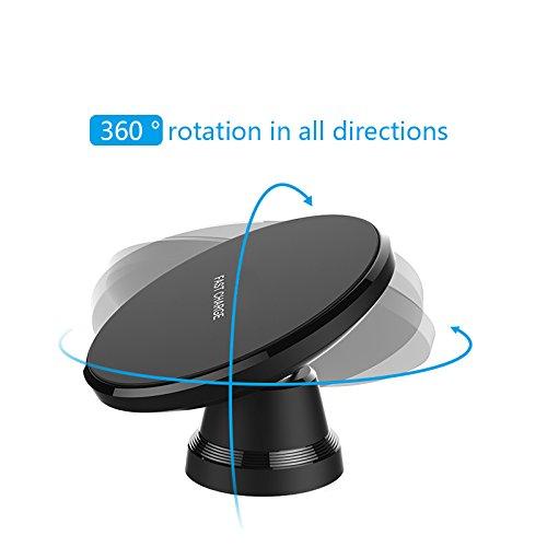 ワイヤレスQi磁気車デスク充電スタンド互換for iPhone X、iPhone 8、iPhone 8 Plus、SAMSUNG GALAXY s8 B0793L93MK