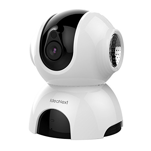 IdeaNext Dome Camera Pan & Tilt Wireless IP Security Surveillance System 960p HD Night Vision (Spy Camera Inside Car compare prices)