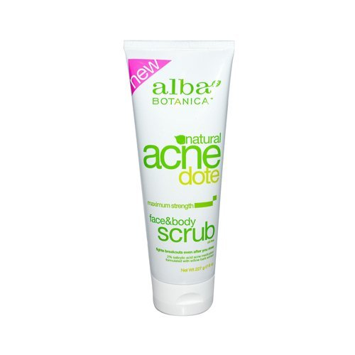Alba Botanica Natural Acnedote Face & Body Scrub - 7