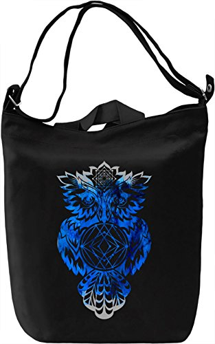Ethnic Owl Borsa Giornaliera Canvas Canvas Day Bag| 100% Premium Cotton Canvas| DTG Printing|