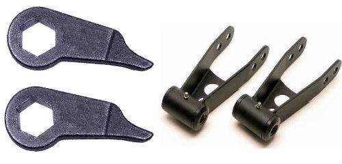 - Forged Torsion Bar Front Lift Keys & Rear Lift Shackles Ford Ranger 4x4