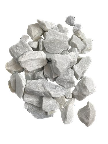 Cheap  4 Pounds White Marble Accent Rocks, 2 x 32 oz BAGS, Outdoor..