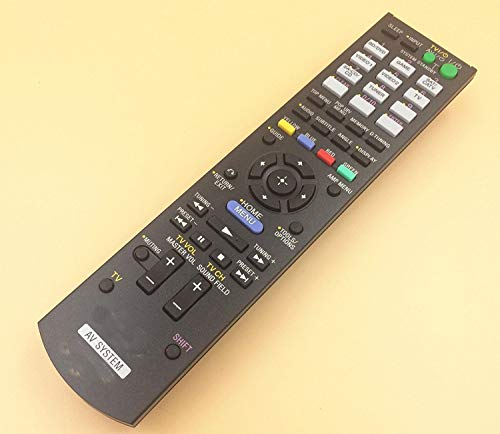 General Replacement Remote Control Fit for HT-SS370HP HT-CT550 RM-AAU106/116 STR-DH720 STRDH730 TDM-iP30 SA-WCT500W SS-CTB102 SS-TSB105 SS-WSB103 for Sony AV System