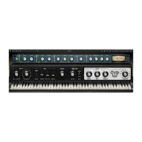 Waves Electric 88 Piano | Vintage Electric Piano Plugin Software Download Only (Best Waves Reverb Plugin)