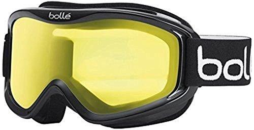 [Bolle Mojo Snow Goggles (Shiny Black, Lemon)] (All Mountain Snow Skis)